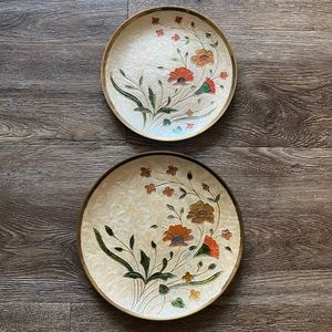 Other - 2/$20 Beautiful Decorative Plates
